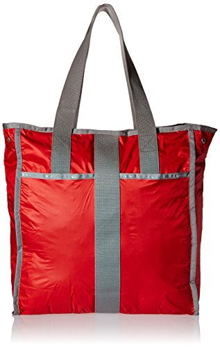 - LeSportsac Large City Tote, Classic Red