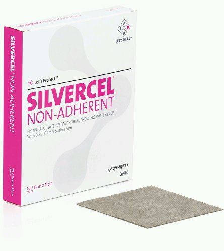Silvercel Antimicrobial Alginate Dressing Sterile - 4