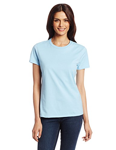 Hanes Women's Nano T-Shirt, X-Large, Light Blue