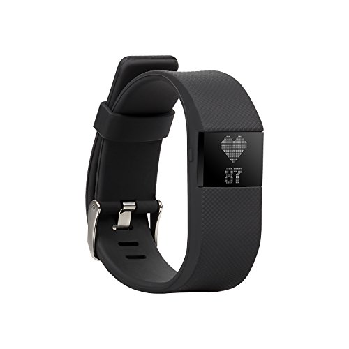 BlueWeigh Rainbow HR Fitness Activity Tracker with Sleep and Heart Monitors, Black
