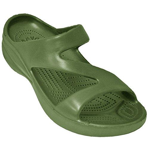 DAWGS Ladies Z Sandal,Olive,5 M US
