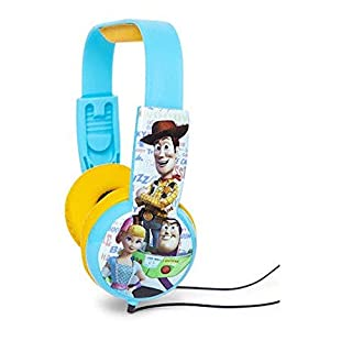 Toy Story 4 Kids Safe Headphones with Built in Volume Limiting Feature for Safe Listening.