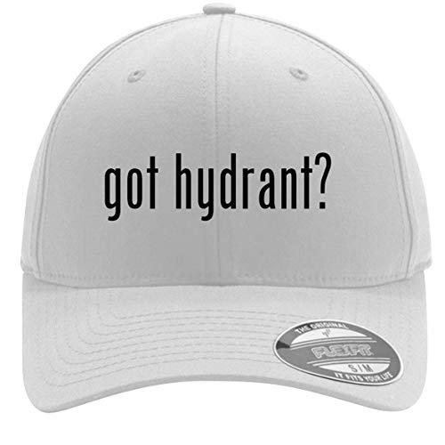 got Hydrant? - Adult Men's Flexfit Baseball Hat Cap, White, Small/Medium ()