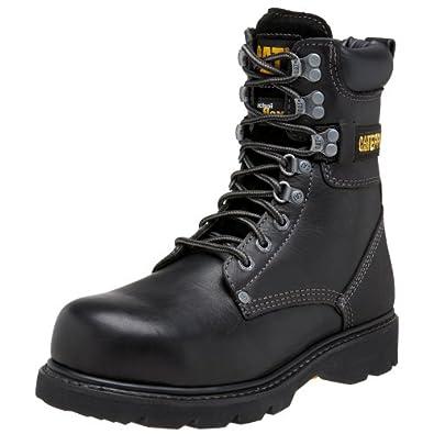 Amazon.com   Caterpillar Men&39s Indiana 8&quot Steel Toe Boot
