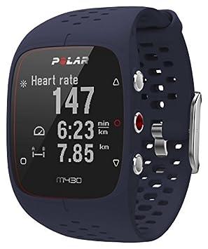 Polar M430 Reloj de Entrenamiento con GPS y Pulsometro de Muñeca, Unisex Adulto, Azul, M/L