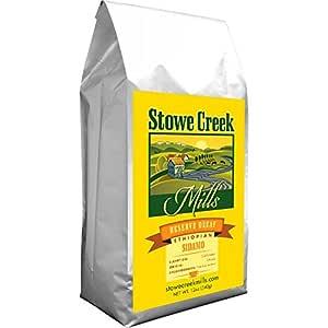 Stowe Creek Mills Coffee - Reserve DECAF Ethiopian SIDAMO,Whole Bean 12oz