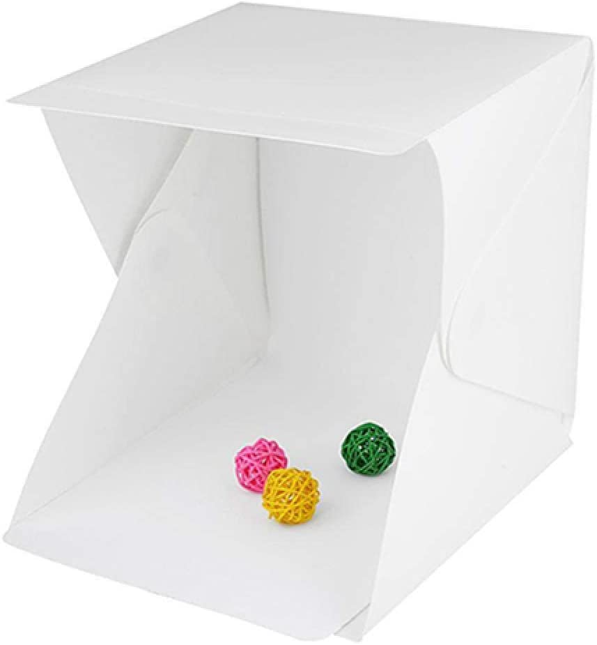 Leilims LED de luz Ambiental fotografía del Estudio de iluminación Tienda de campaña Mini Caja Telón de Fondo