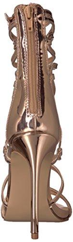 Rose Flaunt Gold Toe Open Madden Heels Steve Women's wnTYxE0