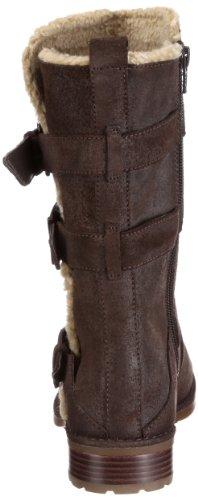 Clarks Norley Cedar 203473694 - Botines fashion de cuero para mujer Marrón (Ebony Suede)