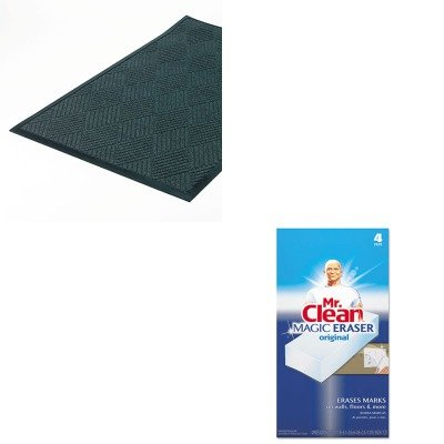 KITCWNS1R035STPAG82027 - Value Kit - Crown Super-Soaker Diamond Mat (CWNS1R035ST) and Mr. Clean Magic Eraser Foam Pad (PAG82027) by Crown