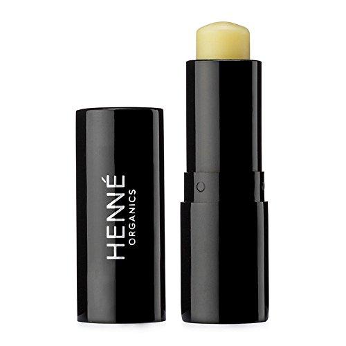 Henné Organics V2 Luxury Lip Balm Stick - USDA Certified Organic All Natural Unscented Mild - Ideal For Sensitive Lips (Luxury Lip Balm)