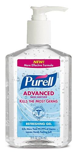 Purell Pump Bottle, Original, 8 Ounce