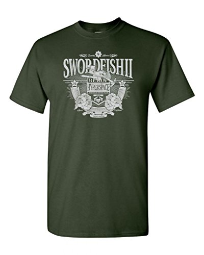 Swordfish 2 Spaceship Parody Adult DT T-Shirts Tee