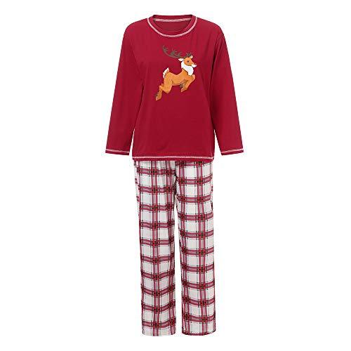 Gufenban Christmas Pajamas for Family Set - Cotton