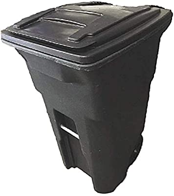 Amazon Com 45 Gallon Trash Can With Lid Rolling Wheels Heavy Duty Garbage Container Large Outdoor Exterior Restaurant Bin Ebook Home Kitchen