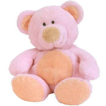 Amazon.com  Ty Pluffies Pinks the Bear 9