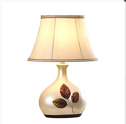 CLG-FLY Creative European garden lamp bedroom bedside lamp,12×46cm dimmer switch