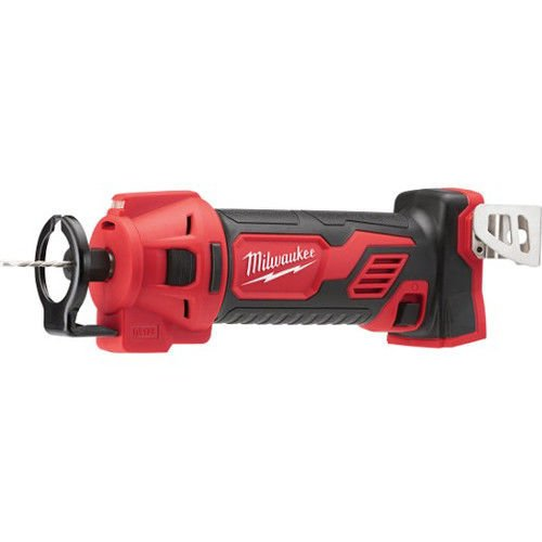 Milwaukee 2627-20 M18 Cordless Drywall Cut Out Tool W/ Bits & Coulet 18 Volt