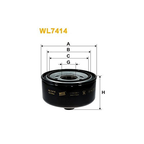 Wix Filters WL7414 Oil-Filter Element: