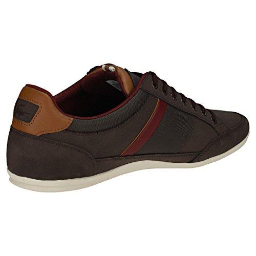 Brw Chaymon 2e2 Marrone 318 brw Cam Lacoste dk Uomo Sneaker 2 w8fqRqS