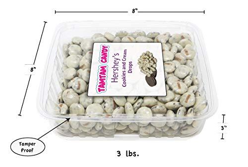 Hershey's Cookies and Cream Drops - Tamper Proof Package - Bulk 2 lbs.]()