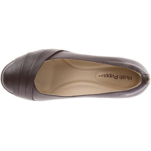 Hush Puppies Women's Jalaina Odell Pump Dark Brown fake for sale outlet eastbay outlet free shipping authentic discount fashionable clearance outlet S6eyys