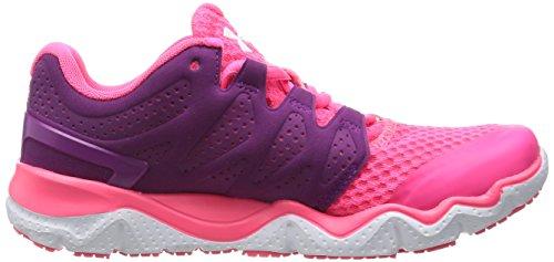Under Armour UA W MICRO G OPTIMUM - Zapatillas de running de material sintético para mujer Violet (Aubergine)