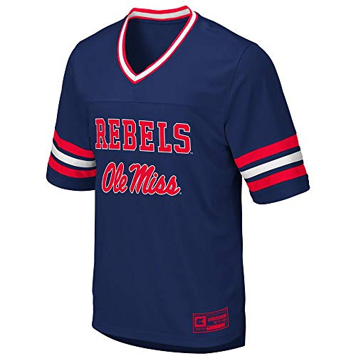 Colosseum Mens Ole Miss Rebels Football Jersey - 2XL