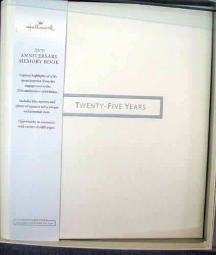 Hallmark Anniversary WCA5301 25th Anniversary Memory Book