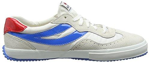 Blue Blanco ante Superga Adulto White de Zapatillas Red 2832 NYLU Unisex Z1wqAz