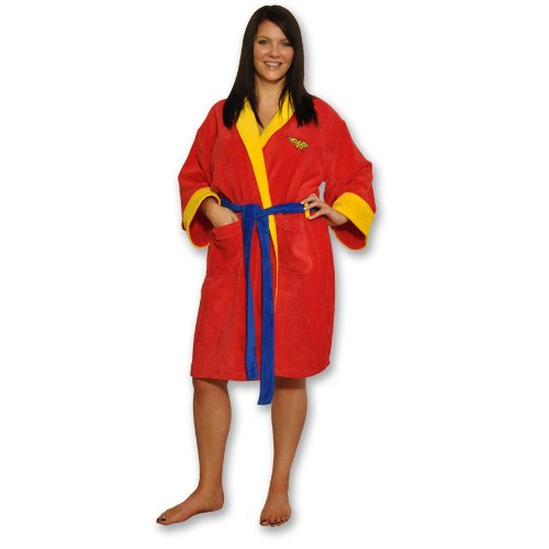 DC Comics Wonder Woman Fleece Robe