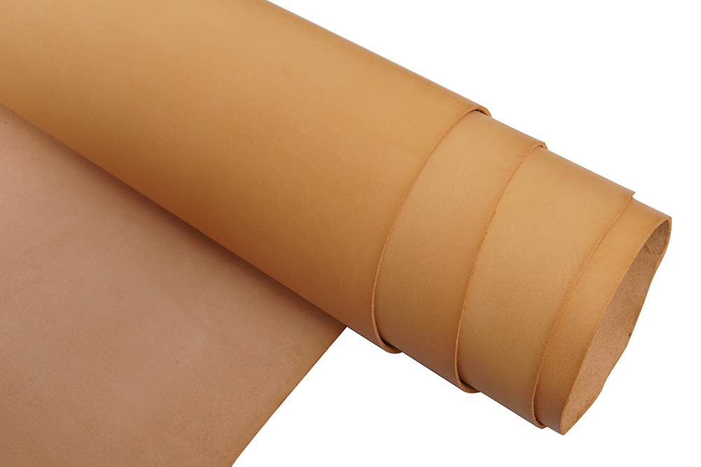 Firm Vegetable Tanned Full Grain Tooling Leather 2.0mm Thick for Crafts//Tooling//Carving//Hobby Workshop Leather Material-QYHQ