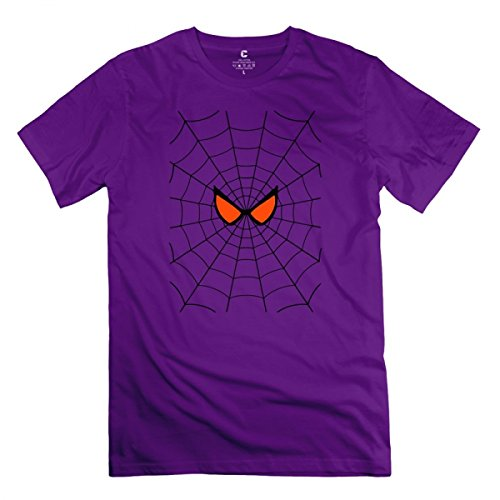 Spiderman Purple T-shirt For Men L