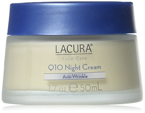 LaCura Q10 NIGHT FACE CREAM Anti-Wrinkle 1.7 oz. by Chom