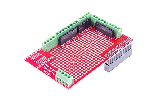 KNACRO Prototyping Shield for Raspberry Pi 3/Pi 2/Model B+/Model A+