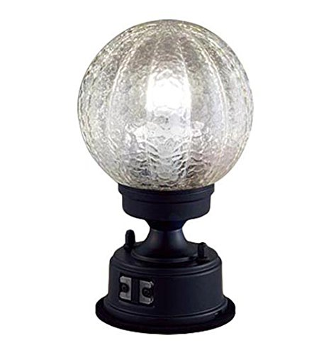 Panasonic LED 門柱灯 据置取付型 40形 電球色 LGWJ56935BK B06XGSR6Y4 13710