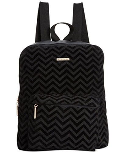 Rampage Electronic (Rampage Chevron Printed Suede Backpack Black)