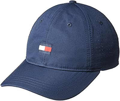 Tommy Hilfiger Men's Dad Hat Flag Golf Cap by Tommy Hilfiger