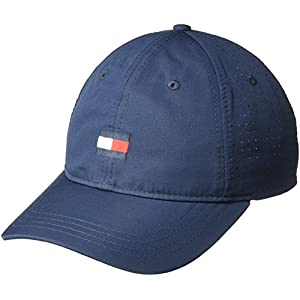 Tommy Hilfiger Men's Dad Hat Flag Golf Cap