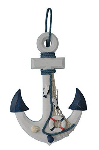 UPC 852659337767, YK Decor Wood Anchor Wall Hanging Plaque Nautical Sea Shore Ocean Beach Decor