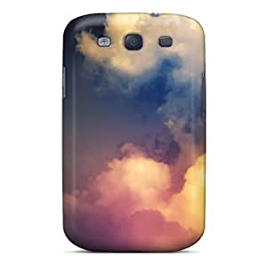 Galaxy S3 Covers Cases - Eco-friendly Packaging(rainbow Above Clouds)