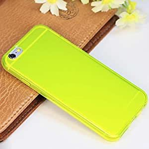 SHOUJIKE Newest High Quality TPU Ultrathin Matte Transparent Back Cover for iPhone 6(Assorted Colors) , 4