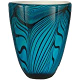 Dale Tiffany Wave Vase, Blue