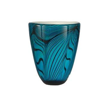 Amazon Dale Tiffany Wave Vase Blue Home Kitchen