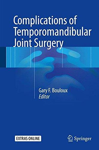 Complications of Temporomandibular Joint Surgery by Springer