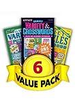Crossword & Variety-6 Pack