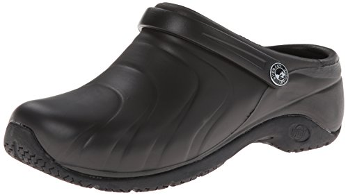 AnyWear Women's Zone Clog, Black, 8 M US