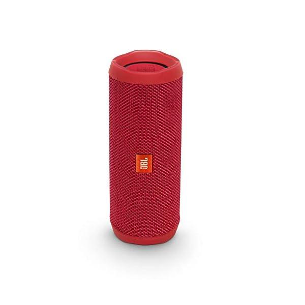 JBL Flip 4 - enceinte Bluetooth Portable Robuste - Étanche Ipx7 pour Piscine & Plage - Autonomie 12 Hrs - Qualité Audio JBL - Rouge 1