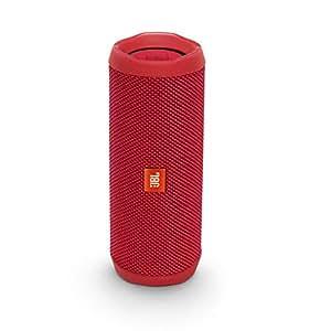 JBL FLIP4-RD Flip 4 Waterproof Portable Bluetooth Speaker - Red (Pack of1)