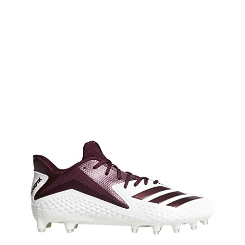 adidas Freak X Carbon Cleat - Mens Football 14 White/Maroon